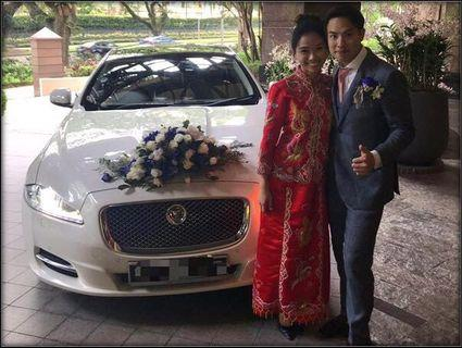 Premium Jaguar XJL 3.0A Wedding Car Rental