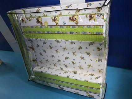🚚 Baby Soft Padded Playpen Compact Foldable Washable Covers