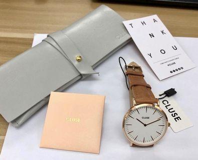 Cluse 皮帶手錶_全新