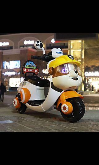 Paw petrol electric bike kids ride on rechargeable