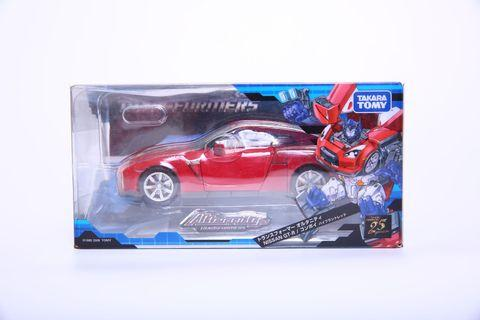 Transformers Alternity A-01 Nissan GTR Convoy Optimus Prime Vibrant Red