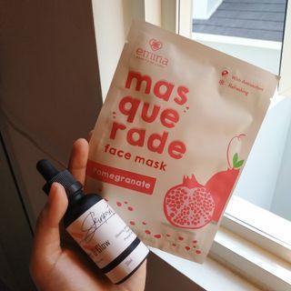 [TAKE ALL!] Skinpoint.co Serum Vitamin C dan Emina Masquerade Pomegranate