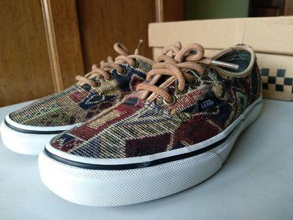 VANS THE GEO WEAVE AUTHENTIC LOW TOP LIMITED EDITION