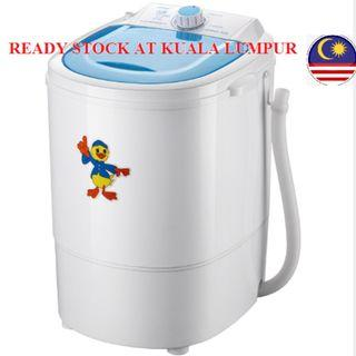Single Barrel Mini Washing Machine 4.5KG Washing Capacity