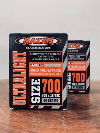 [NEW] Maxxis Ultra Weight Tube 700 x 18/25c, 48mm Presta valve