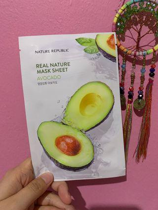 Nature Republic Mask Sheet - Avocado
