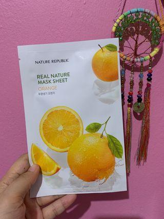 Nature Republic Mask Sheet - Orange
