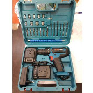 MEG-PRO 18V Impact Cordless Drill with 24pcs Accessories