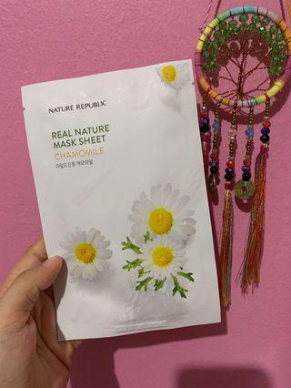 Nature Republic Mask Sheet - Chamomile