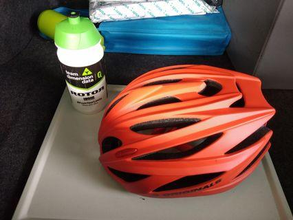 Cycling helmet & bottle free delivery !