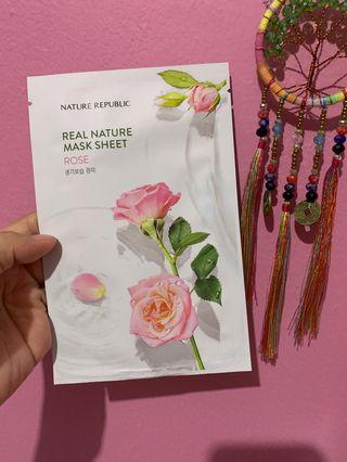 Nature Republic Mask Sheet - Rose