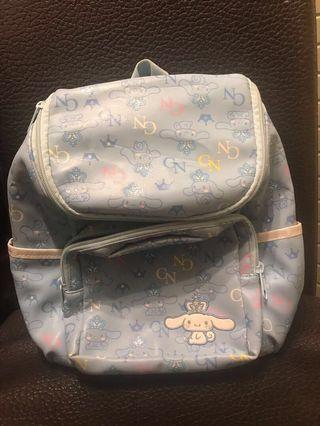 Cinnamorol backpack 兒童雙肩背包