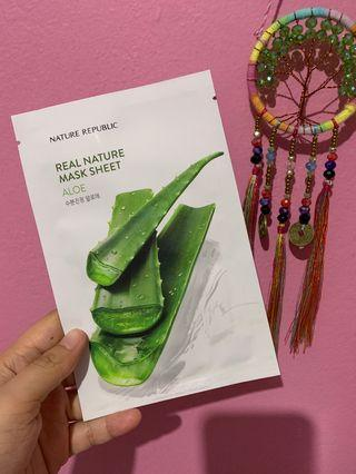 Nature Republic Mask Sheet - Aloe