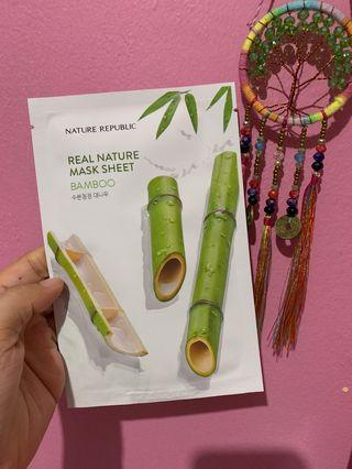 Nature Republic Mask Sheet - Bamboo