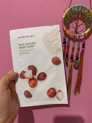 Nature Republic Mask Sheet - Shea Butter