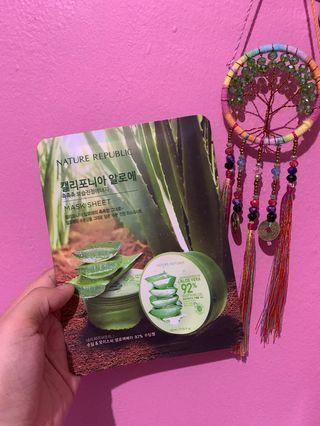 Nature Republic Mask Sheet - Aloe Vera 92%