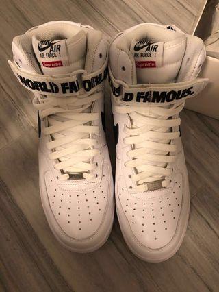 Supreme x Nike Air Force1