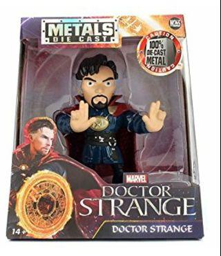 """Jada Toys Metals Marvel 4"""" Movie Figure - Dr. Strange Toy Figure"""