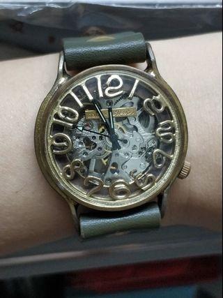 日本獨立製錶限量銅錶