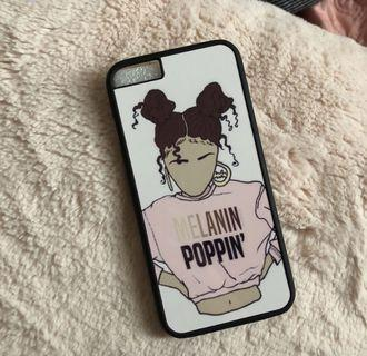Melanin Poppin IPhone Case