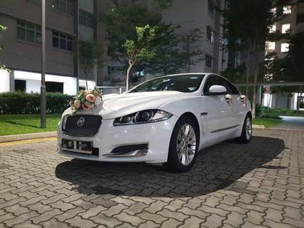 Prestigious Jaguar XF 2.0A Wedding Car Rental