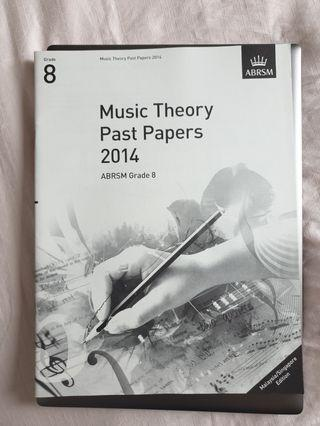 🚚 ABRSM Grade 8 Theory past papers 2014
