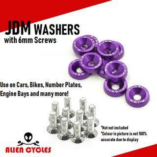 JDM Aluminium Washers and Screws