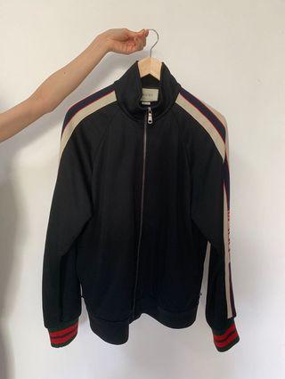 Gucci Technical Jersey Jacket Sz S
