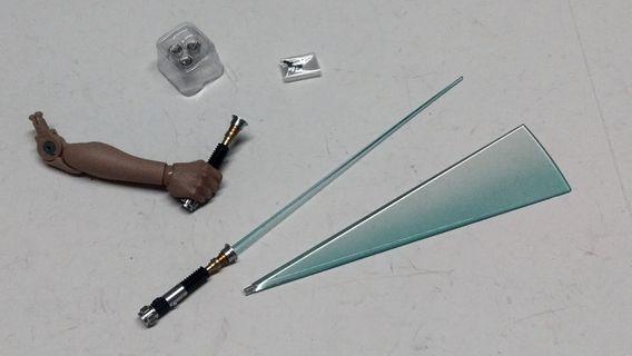 Hottoys Star Wars Obi Wan Kenobi MMS478 1/6 Figure - 劍set