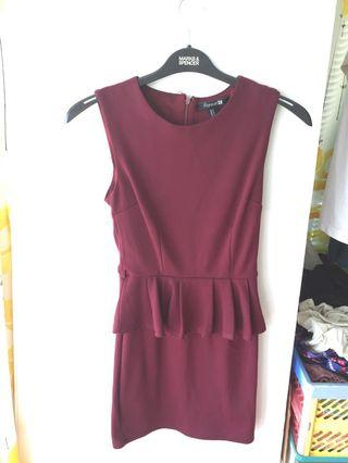 Red work dress 返工裙