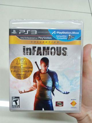 PS3 Infamous 2 games