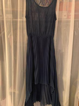 Navy Blue Dress (Used twice)