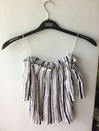Off Shoulder Top 一字膊上衣