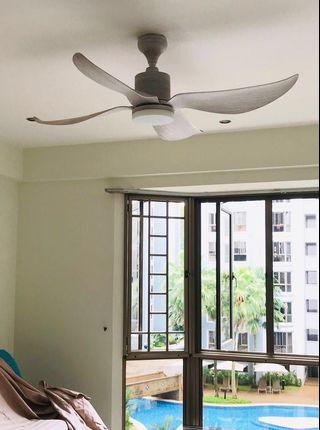 """🚚 Elmark transformer LED LIGHT 52"""" designer ceiling fan with light kit"""