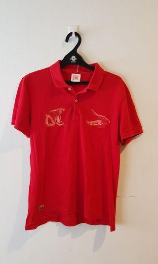 LACOSTE Red Polo Limited Edition
