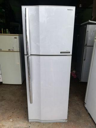 Toshiba double door fridge