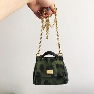 Dolce and Gabbana micro sicily bag