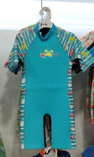 [BNWT] Thermal Swimwear / Thermal Swimsuit/ Splash About UV Combie