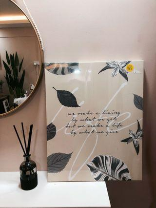 $13 only BN QUOTE CANVAS