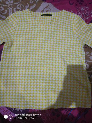 Blouse top yellow