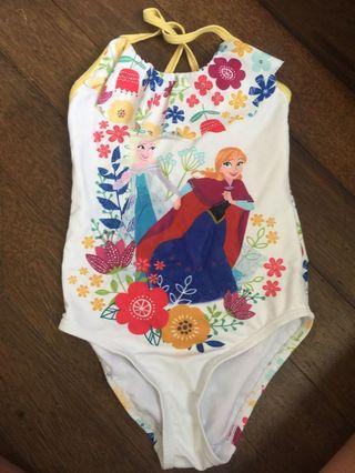 One-Piece Anna Swimsuit (frozen)