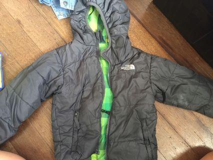 NorthFace Jacket reversible
