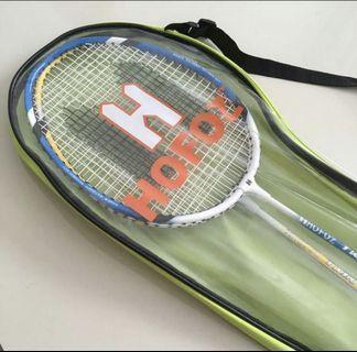 Badminton racket 1 pair with bag