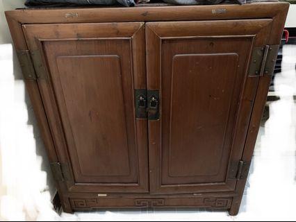 古董 入筍 榆木櫃