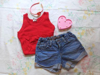 Old Navy and Denim Short
