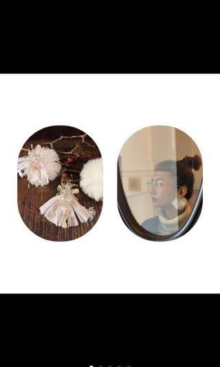 🚚 全新現貨:Maison de Dacy 傳說的系列季節限定款:雪女❄️夾式