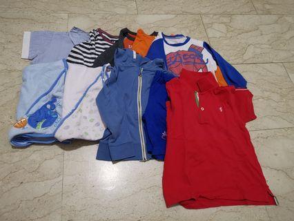 50pc Boy clothes 4-5yo
