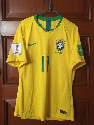 巴西國家隊2018世界盃球衣