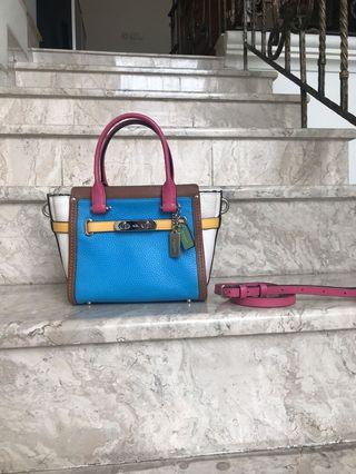 Coach Swagger 27 , RAINBOW (AUTHENTIC)