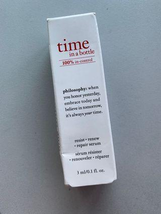 Time in a bottle Serum